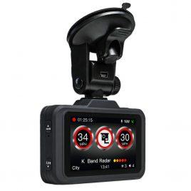 Aguri DX2000 Speed Camera Detector Dash Cam